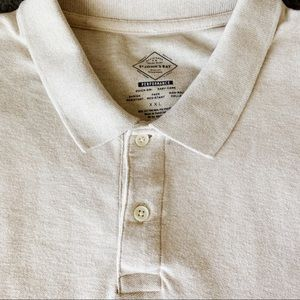 St. John's Bay Shirts - NWOT Cream Performance Polo, XXL